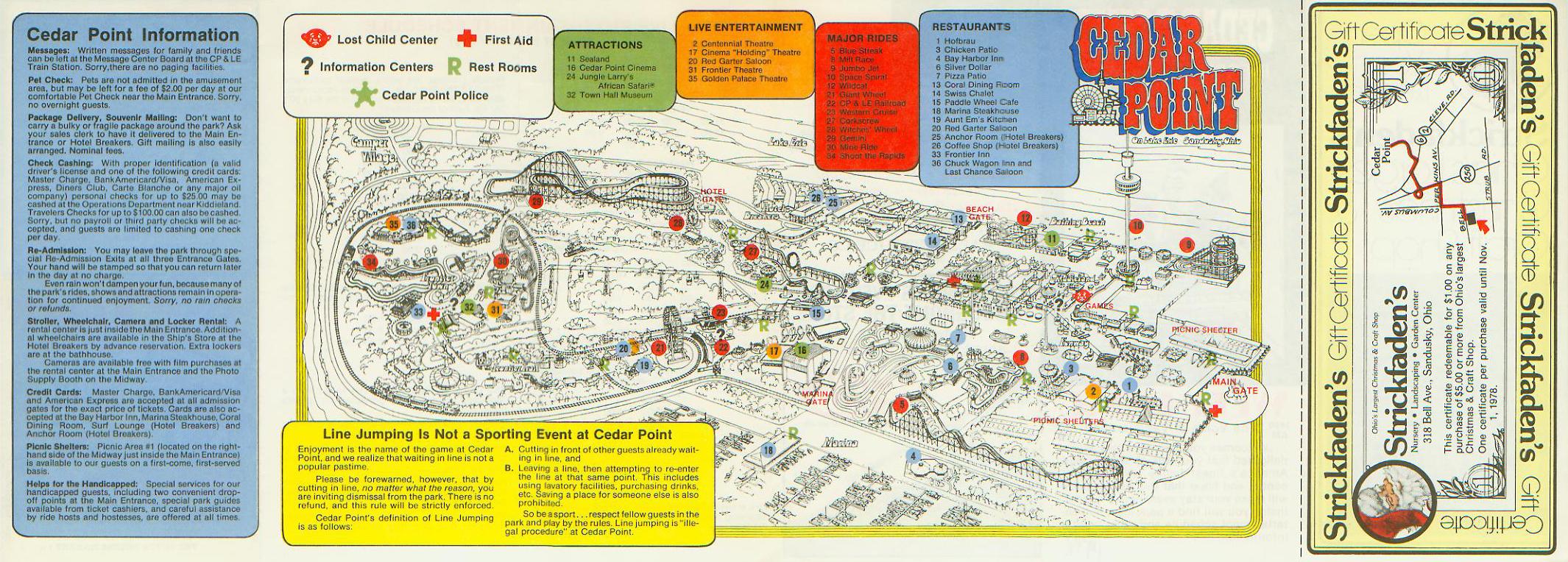 cedar point park map 2017 pdf